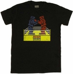 Rock Em Sock Em Robots Boxing T Shirt Sheer