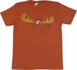 Rocky and Bullwinkle T Shirt Sheer