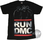 Run DMC Outlines Logo T-Shirt
