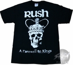 Rush Farewell Skull T-Shirt