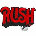 Rush Name Patch