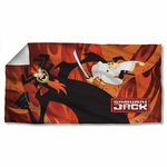 Samurai Jack Epic Battle Towel