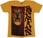 Santana Lion T-Shirt Sheer