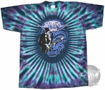 Santana Playing Tie Dye T-Shirt