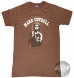 Saturday Night Live Cowbell Shaded T-Shirt Sheer