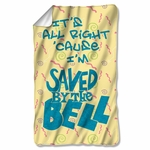 Saved by the Bell All Right Fleece Blanket
