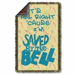 Saved by the Bell All Right Throw Blanket