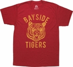 Saved by the Bell Bayside Tigers Red Sheer T-Shirt