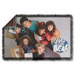 Saved by the Bell Group Shot Throw Blanket