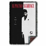 Scarface Poster Throw Blanket