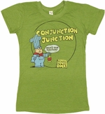 School House Rock Conjunction Baby Tee