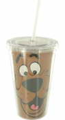 Scooby Doo Face Travel Cup