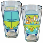 Scooby Doo Mystery Machine Pint Glass
