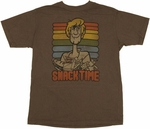 Scooby Doo Snack Time T-Shirt Sheer
