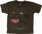 Scooby Doo Tongue Toddler T Shirt