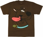 Scooby Doo Tongue Youth T Shirt