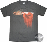 Senses Fail Chainsaw T-Shirt