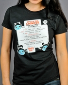 Serenity Speaking Chinese Ladies Tee