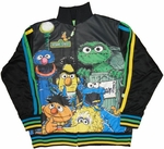 Sesame Street Collage Stripe Track Jacket