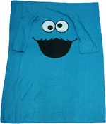 Sesame Street Cookie Monster Blanket