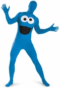 Sesame Street Cookie Monster Bodysuit Costume