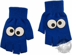 Sesame Street Cookie Monster Gloves