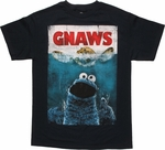 Sesame Street Cookie Monster Gnaws T Shirt