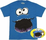 Sesame Street Cookie Monster T Shirt in Tin