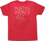 Sesame Street Elmo Mister Happy T Shirt Sheer
