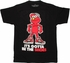 Sesame Street Elmo Shoes Black T Shirt