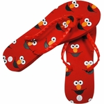 Sesame Street Elmo Womens Sandals