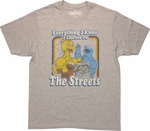 Sesame Street Know Streets Heather T-Shirt