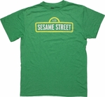 Sesame Street Sign T Shirt Sheer