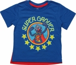 Sesame Street Super Grover Caped Toddler T Shirt