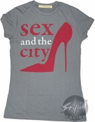 Sex and the City Shoes Baby Tee