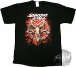 Shadows Fall Pentagram T-Shirt