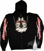 Shadows Fall Swords Hoodies