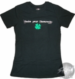 Shake Your Shamrocks Baby Tee