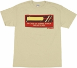 Shaun of the Dead Cricket Bat T Shirt