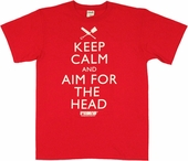 Shaun of the Dead Keep Calm T Shirt