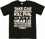 Shaun of the Dead Plan T Shirt