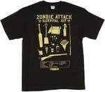 Shaun of the Dead Survival Kit T-Shirt
