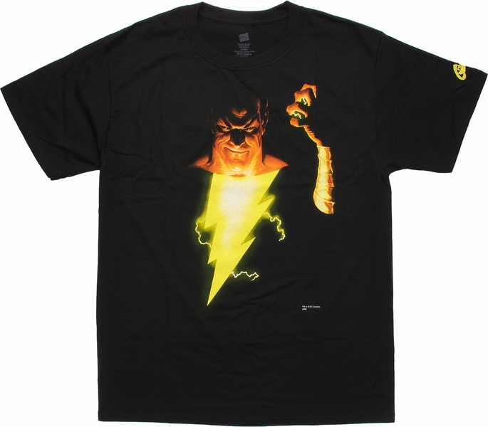 Shazam Black Adam Fist T-Shirt