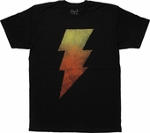 Shazam Black Adam Gradient T-Shirt Sheer