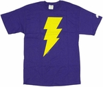 Shazam Captain Marvel Jr Symbol T-Shirt