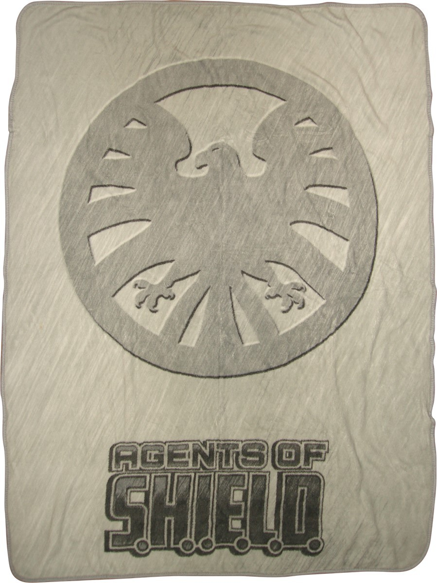 Shield Agents Logo Shield Agents Logo Blanket
