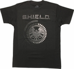 SHIELD Assemble Logo T-Shirt Sheer