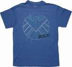 SHIELD Blueprint Logo T Shirt