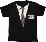 SHIELD Coulson Badge Costume T Shirt