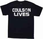 SHIELD Coulson Lives T Shirt
